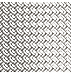 Seamless geometric black-white background for your vector