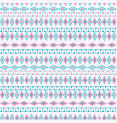 Tribal texture geometric seamless pattern vector