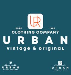 urban t-shirt stamp typography design vector image