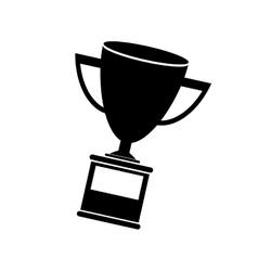 trophy award icon vector image