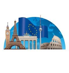 European union vector