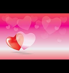 heart boke vector image