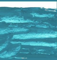 mint turquoise blue hand paint texture vector image