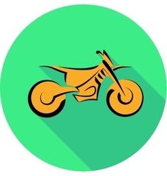 Motorbike symbol vector