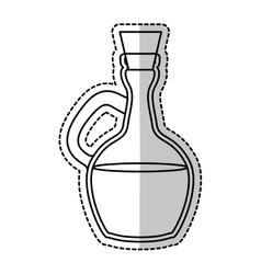 Olive oil icon vector