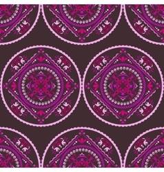 Seamless ethnic pattern Vintage decorative vector image