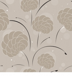 seamless background in coffee colors vector image vector image