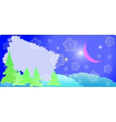 halftone postcard vector image vector image