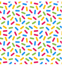 colorful memphis seamless pattern vector image