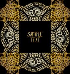 Decorative pattern design vector image