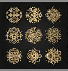 Design elements graphic thai design abstract vector