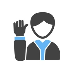 Elected Candidate vector image