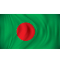 Flag of Bangladesh vector image