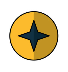 Screw metal isolated icon vector