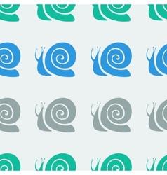 Snail pattern vector