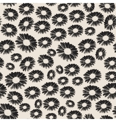 Stock seamless floral pattern vector image