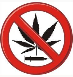 Warning prohibiting drug vector