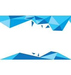 Background trangle bleu vector