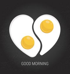 breakfast menu concept vector image