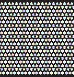 Flower pattern seamless vector