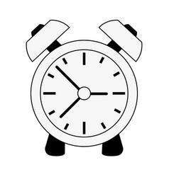analog alarm clock icon image vector image
