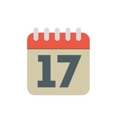 calendar date month plan desing vector image