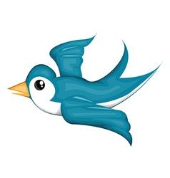 Cartoon bird design vector