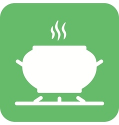 Cooking on Stove vector image