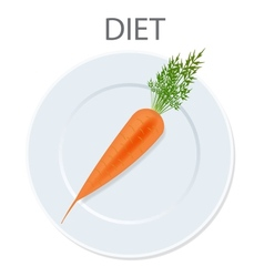 diet icon vector image