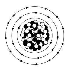 heavy atom vector image