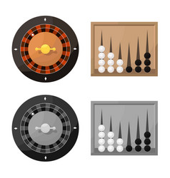 Isolated object entertainment and competition vector