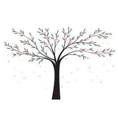 natural background tree vector image