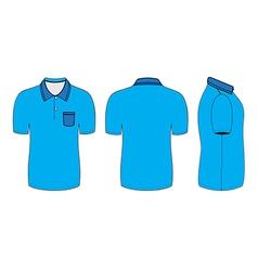 polo shirt design templates vector image