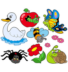 small animals collection 9 vector image