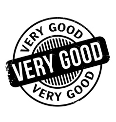 Very Good rubber stamp vector