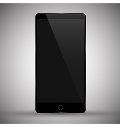 modern mobile phone vector image vector image