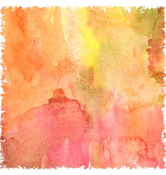 Abstract watercolor art hand paint vector image vector image