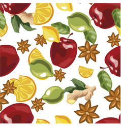 A seamless pattern with vector