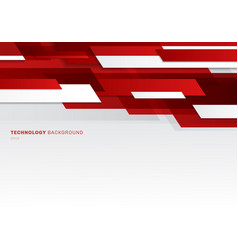 abstract header red and white shiny geometric vector image