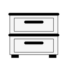 Archive drawers icon image vector