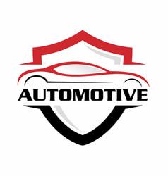 automotive logo 2 vector image