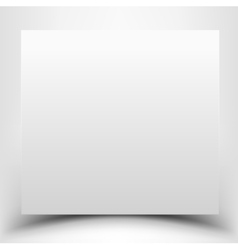 Blank white vector image