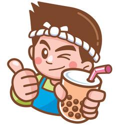 Bubble tea vector
