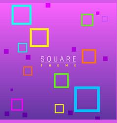 business brochure design contemporary geometric vector image