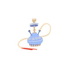 hand drawing icon tradition egyptian smoking vector image