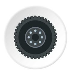 metal gear icon circle vector image