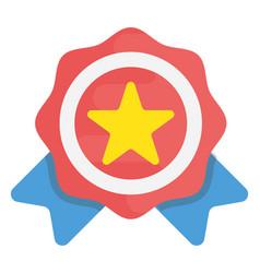 Premium award flat icon vector