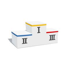 winners pedestal vector image