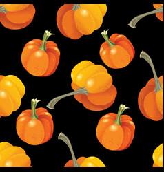 halloween seamless pattern background vector image