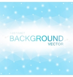 Abstract Polygon Blue Background vector image vector image